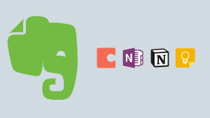 The 4 best alternatives to Evernote 2019