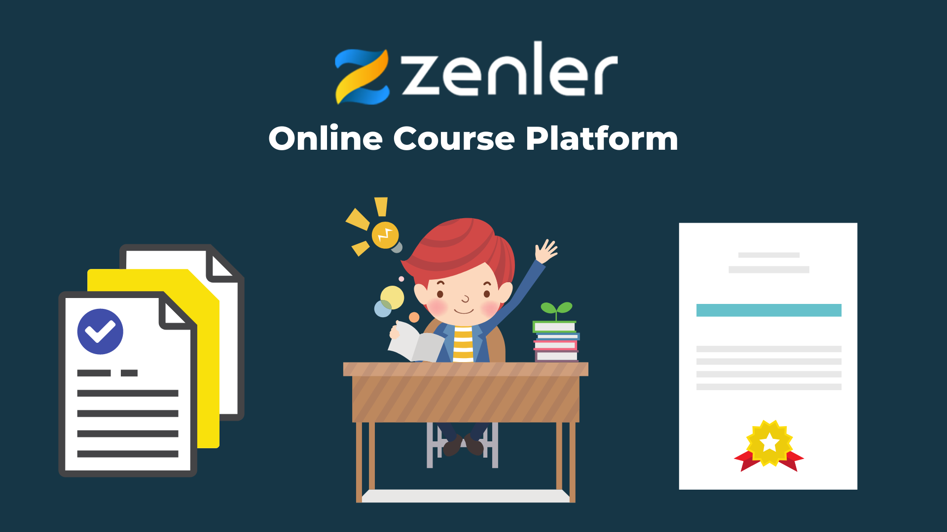New Zenler and Online Course Platforms